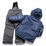 Зимний костюм для мальчика PELUCHE F17 M 61 EG Dk Heaven / Smoke. Размеры 96-128., фото 2