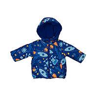 Курточка  с космическим принтом