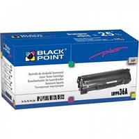 Картридж Black Point HP CB436A (LBPPH36A)
