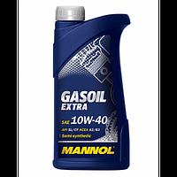 Моторное масло для газовых двигателей MANNOL GASOIL EXTRA 10W-40 API SL/CF 1л