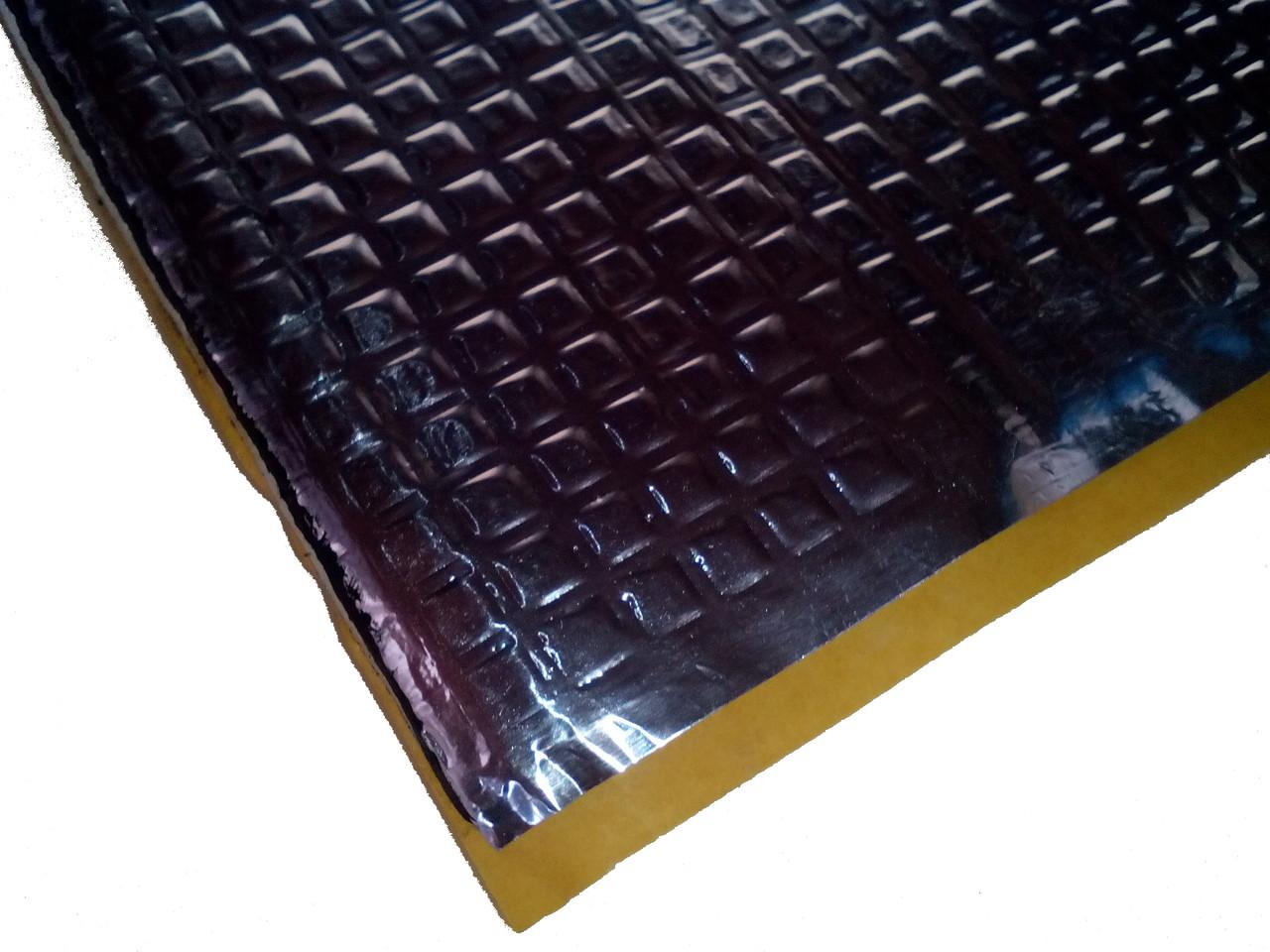 Виброизоляция Визол Vizol 2.0, лист 70см х 50см, толщина - 2мм.