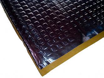 Виброизоляция автомобильная Визол Vizol 3.0, лист 70см х 50см, толщина - 3мм.