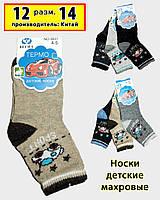 Детские махровые носки Весна