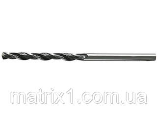 Сверло по металлу, 0,5 мм, быстрорежущая сталь, 10 шт. цилиндрический хвостовик// СИБРТЕХ
