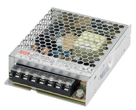 Блок питания Mean Well LRS-100-24 24В; 4.5А; 108 Вт IP20 Код.59021, фото 2