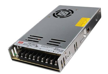 Блок питания Mean Well LRS-350-24 24В; 14.6А; 350 Вт IP20 Код.59027, фото 2