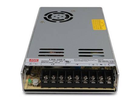 Блок живлення Mean Well LRS-350-5 5В; 60А; 300 Вт IP20 Код.59028, фото 2