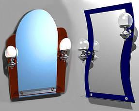 Зеркала влагостойкие простые и фигурные