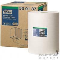 Аксессуары для ванной комнаты Tork Повышенной прочности нетканый материал в рулоне Tork 530137 белый
