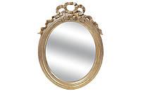 """Настенное зеркало """"Романтик"""", большое, полистоун, 48х72 см."""