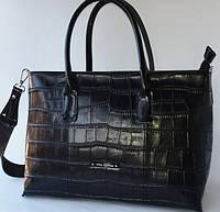 Классическая женская сумка из натуральной кожи прекрасного качества