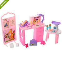 Мебель для кукол Gloria 9817 Кабинет доктора