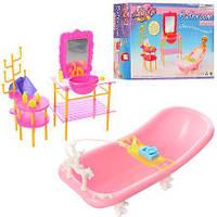 Мебель для кукол Gloria 2913 Ванная комната