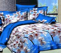 Комплект постельного белья 3D Арт. Весна- Евро комплект