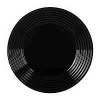 Luminarc Тарелка Harena 25 см обеденная черная (70-378)