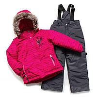 Зимний костюм для девочки PELUCHE F17 M 62 EF Lollipop / Smokey Grey. Размер 128., фото 1