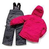 Зимний костюм для девочки PELUCHE F17M62EF Lollipop / Smokey Grey. Размер 134., фото 2