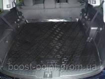 Коврик багажника (корыто)-полиуретановый, черный Honda Pilot (хонда пилот 2008+)5 мест