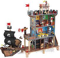 KidKraft Игровой набор KidKraft Пиратская крепость с кораблем (63284)