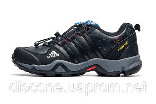 Кроссовки Adidas GORE-TEX AX2 черные с серым,  мужские, р. 41 42 44