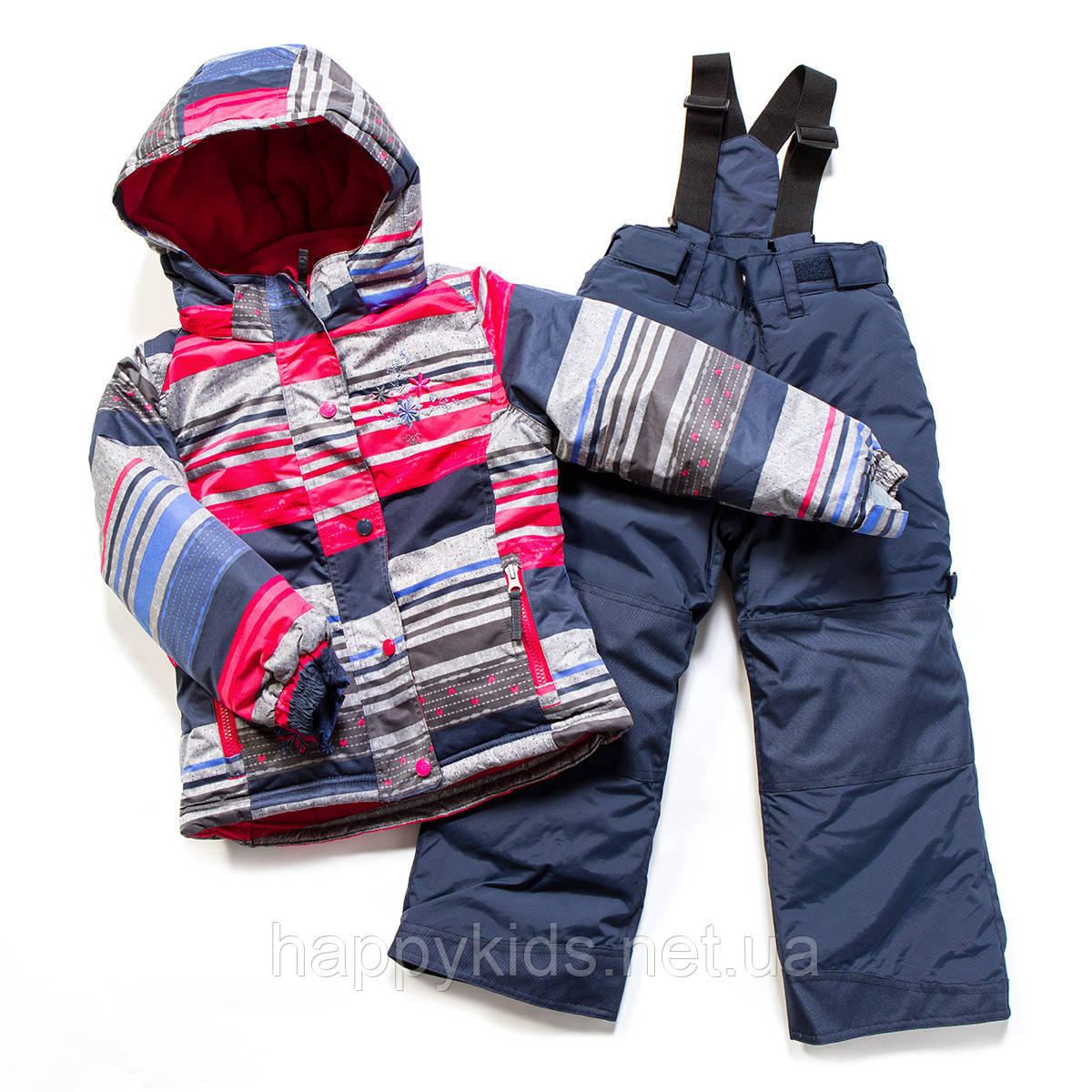 Зимний костюм для девочки PELUCHE F17 M 72 EF Raspberry / Dk Heaven. Размеры 96 - 128.