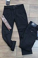Утепленные катоновые брюки на флисе. 4- 6 лет.