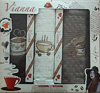 Набор вафельных кухонных полотенец в коробке TAG 45*65 - 3V001