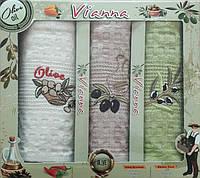 Набор вафельных кухонных полотенец в коробке TAG 45*65 - 3V004