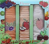 Набор вафельных кухонных полотенец в коробке TAG 45*65 - 3V007