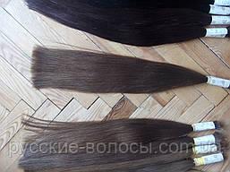 волос наращивания срез. Натуральные славянские волосы для наращивания стандарт - качество недорого темно коричневый, 60