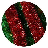 Дождик (мишура) 7 см Польша (красный)