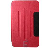 Чехол-книжка для Samsung Galaxy Tab 4 SM-T230 пластиковая накладка Folio Cover Красный