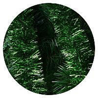 Дождик (мишура) 7 см Польша (зеленый)
