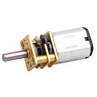 Мотор-редуктор 12мм (3-12В, 160мА, 150 об/хв, 0,3кг/см), фото 1