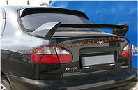 Спойлер Лезвие из стеклопластика на Daewoo Lanos 1997 седан