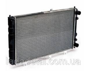 Радиатор Приора 2170-2172 (основной) Sport без кондиционера Luzar