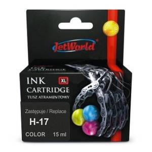 Картридж JetWorld HP 17 Color (JWI-H17CMYR)