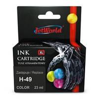 Струйный картридж JetWorld HP 49 color (51649A)