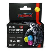 Картридж JetWorld HP 301 XL Color (CH564EE)