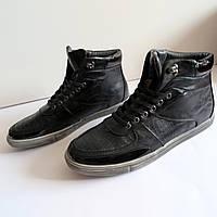 Мужские кроссовки ботинки туфли   44 размер 30см Tomasso Taccardi эко кожа классика