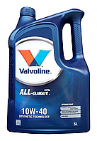 Масло моторное VALVOLINE ALL CLIMATE EXTRA 10W-40, 5л