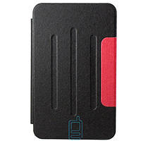 Чехол-книжка для Samsung Galaxy Tab 3 SM-T110 пластиковая накладка Folio Cover Черный