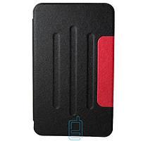 Чехол-книжка для Samsung Galaxy Tab 4 SM-T230 пластиковая накладка Folio Cover Черный