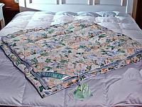 Одеяло пуховое Экопух - 155*215 пух 50% перо 50%