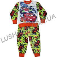 Махровая пижама Тачки на рост 104-116 см - Вельсофт
