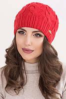 Женская вязаная шапка в 14ти цветах AC Ирэн1