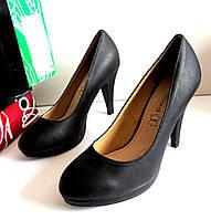Женские туфли на каблуке 40 размер 25.5см Tomasso Taccardi  классика кожа  848