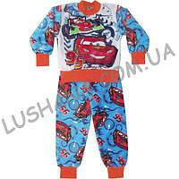 Махровая пижама Тачки на рост 116-122 см - Вельсофт