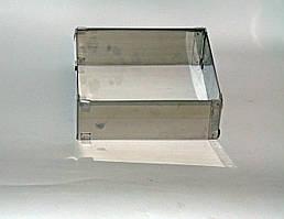 Форма для выпечки раздвижная квадрат от 14*14 см до 26*26 см высота 10 см