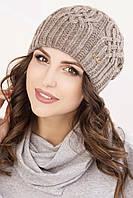 Женская вязаная шапка в 13ти цветах AC Виктория